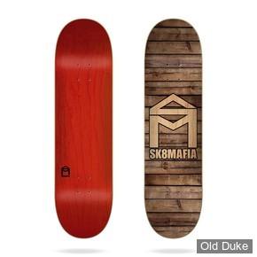 "DECK - 8.25"" / 32"" - House Logo Wood 8.25""x32"" Sk8Mafia Deck - SK8 MAFIA SKATEBOARD"