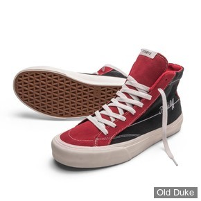 SKATE SHOES - STRAYE - HILAND - FUCK OFF - RED - TAILLE : 42.5