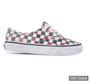 SKATE SHOES - VANS - AUTHENTIC - WASHED CHILI PEPPER - TAILLE : 43