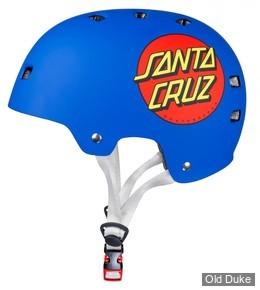 CASQUE DE PROTECTION - BULLET - SANTA CRUZ CLASIC DOT- MATT BLUE - TAILLE : L/XL ADULTE (58-61 cm)
