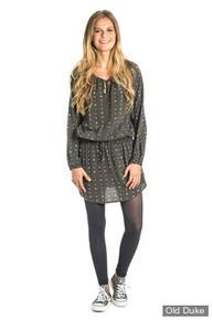 TUNIQUE - RIP CURL - IRISSA DRESS - BLACK / NOIR - TAILLE : S