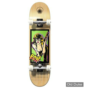 """SKATEBOARD - STREET - 7.75 / 31""""  - COMIX SERIE BANDIT COMPLETE - YOCAHER"""