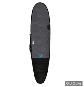 HOUSSE DE SURF - LONGBOARD - LONGUEUR : 8'0 - POUR 1 PLANCHE - CREATURES OF LEASURE - DAY USE - CHARCOAL / CYAN