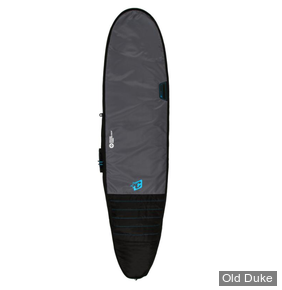 HOUSSE DE SURF - LONGBOARD - LONGUEUR : 9'0 - POUR 1 PLANCHE - CREATURES OF LEASURE - DAY USE - CHARCOAL / CYAN