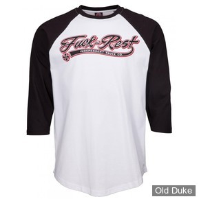 TEE-SHIRT - INDEPENDENT - Independent Custom Top Ftr Script Baseball - BLACK / WHITE - TAILLE : S