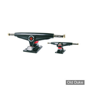 "TRUCKS - IRON - LOW - 5.25""- BLACK"