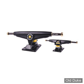 "TRUCKS - IRON - LOW - 5.0""- BLACK"