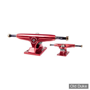 "TRUCKS - IRON - LOW - 5.25""- RED"
