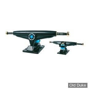 "TRUCKS - IRON - HIGH - 5.80""- BLACK"