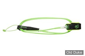 LEASH - LONGUEUR : 6' / DIAMETRE : 6mm - CREATURES OF LEASURE - High performance / Ultra lightweight - COMP 6 - COULEUR : CITRON VERT