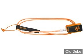 LEASH - LONGUEUR : 6' / DIAMETRE : 6mm - CREATURES OF LEASURE - High performance / Ultra lightweight - COMP 6 - COULEUR : ORANGE CLAIR