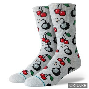 CHAUSSETTES - STANCE - CHERRY BOMB - TAILLE : L ( 43 - 46 )