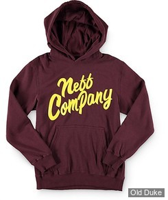 SWEAT-SHIRT ENFANTS - NEFF - YOUTH BUGED OUT HOOD - MAROON  - TAILLE : M