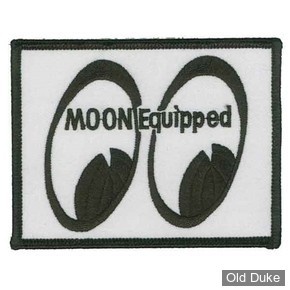 ECUSSON MOONEYES - MOON Equipped Square Patch