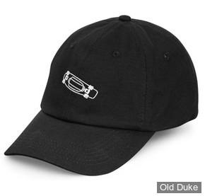 CASQUETTE - PENNY - Penny Cap Calvin Dad Hat - 6 PANEL - COULEUR : BLACK