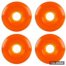 ROUE DE SKATE - D / 52MM - PROHIBITION - COLORS WHEELS - 101A - ORANGE