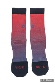 CHAUSSETTES - RIP CURL - YARDAGE SOCKS - POMPEIAN RED - TAILLE : 40 / 42