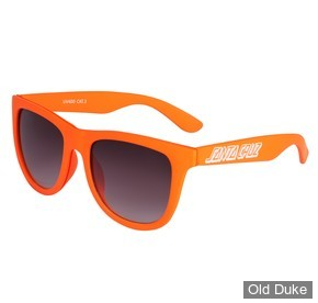 LUNETTES - SANTA CRUZ - CLASSIC STRIP SUNGLASSES - CORAL - ADULTE