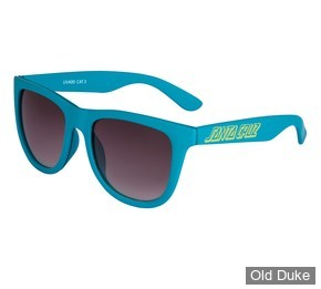 LUNETTES - SANTA CRUZ - CLASSIC STRIP SUNGLASSES - LAKE BLUE - ADULTE