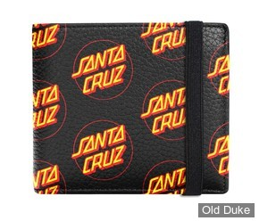 PORTE FEUILLES - SANTA CRUZ OTHER DOT WALLET - NOIR