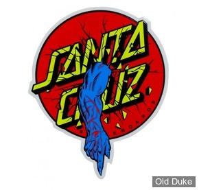 "AUTOCOLLANT / DECAL - SANTA CRUZ - Santa Cruz Stickers Rob Dot Sticker - 4"""