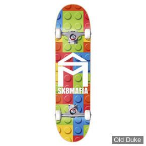 "SKATEBOARD - STREET - 7.87""/ 31.75"" - HOUSE LOGO LEGO - SK8 MAFIA"