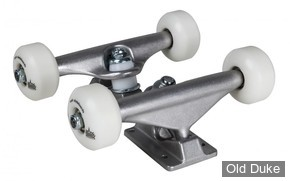 "KIT TRUCKS - SUSHI - UNDERCARRIAGE - 5.25""- SILVER"