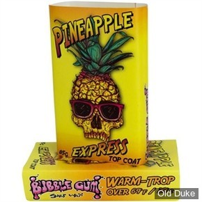 TOP COAT / SURF WAX - PINEAPPLE WARM - TEMPERATURE : PLUS DE 21°C - BUBBLE GUM - TROP