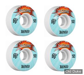 ROUE DE SKATE - D / 53MM - BONES - STF PRO MCCLUNG BLAST - V1