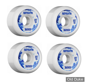 ROUE DE SKATE - D / 56MM - BONES - SPF CLEAR ARMANTO BLUE CHINA - P5