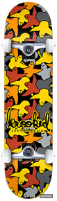 "SKATEBOARD - STREET - 7.75"" / 31.30  - BIRD CAMO - KROOKED COMPLET"