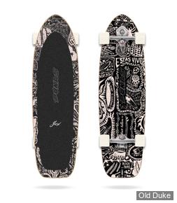 SKATEBOARD - SUFSKATE - Yow x Pukas Dark 34.5″ Signature Series Surfskate - YOW