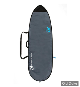 HOUSSE DE SURF - FISH / RETRO FISH - LONGUEUR : 5'10 - POUR 1 PLANCHE - CREATURES OF LEASURE - LITE - CHARCOAL / CYAN