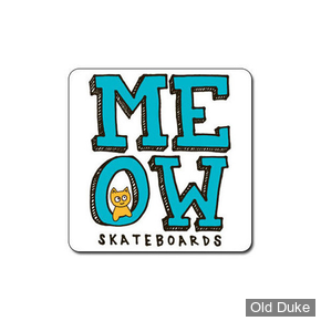 AUTOCOLLANT / DECAL - MEOW - STACKED STICKER