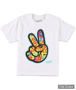 TEE-SHIRT - NEFF - CONCORD 2 TEE NEFF  - WHITE  - TAILLE : S