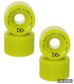 ROUE DE SKATE - D / 65MM - FLYING WHEELS -CLIMAX 65 - 78AA - ANISE