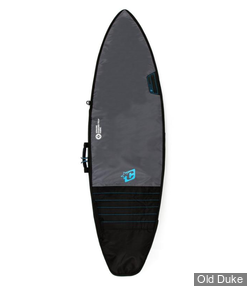 HOUSSE DE SURF - SHORTBOARD - LONGUEUR : 6'7 - POUR 1 PLANCHE - CREATURES OF LEASURE - DAY USE - CHARCOAL / CYAN