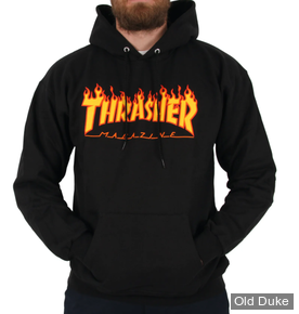 TEE-SHIRT THRASHER MAGAZINE - GODDESS BLACK - TAILLE : S