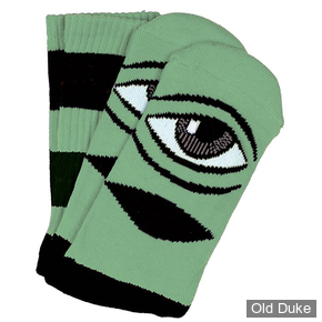 CHAUSSETTES - TOY MACHINE - SECT EYE BIG STRIPE SOCK - MINT - TAILLE / UNIQUE