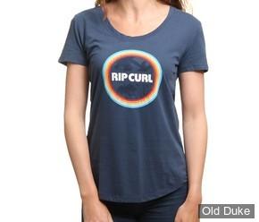 TEE-SHIRT - RIP CURL - WISLER TEE - ISINGNIA BLUE / BLEU - TAILLE : M