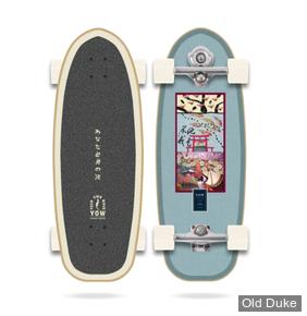 SKATEBOARD - SUFSKATE - Yow Chiba 30″ Classic Series Surfskate - YOW