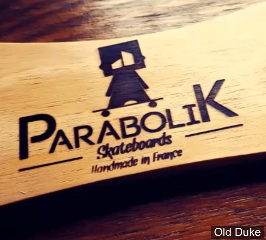 "SKATEBOARD - CRUISER  - 22.04"" - KIDS + - PARABOLIK - (marque FRANCAISE)"