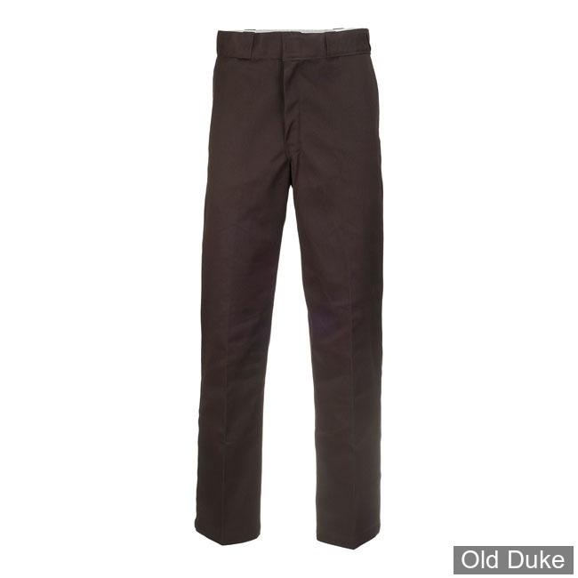 PANTALON - DICKIES - 874 - ORIGINAL WORK PANTS - DARK BROWN / MARRON FONCE - TAILLE : 34 / 34