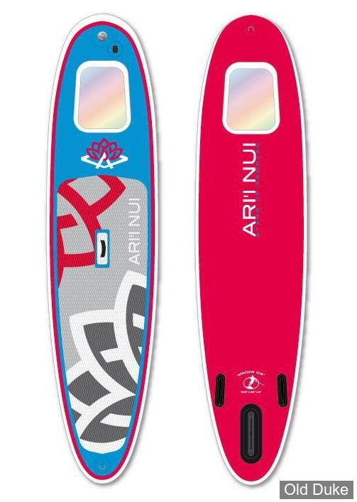 PLANCHE DE STAND UP PADDLE GONFLABLE - LONGUEUR :10'6 - ARR'I NUI - MODELE : WINDOW