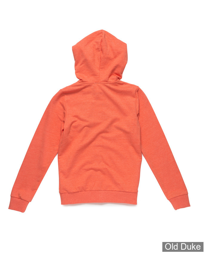 SWEAT  FILLE ZIPPE A CAPUCHE - RIP CURL - SNOW LOTUS FLEECE - GEOGIA PEACH - TAILLE : 14 ANS