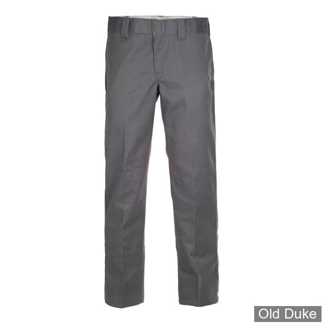 PANTALON - DICKIES - 873 - SLIM STRAIGHT WORK PANTS - CHARCOAL GREY / GRIS - TAILLE : 34 / 32