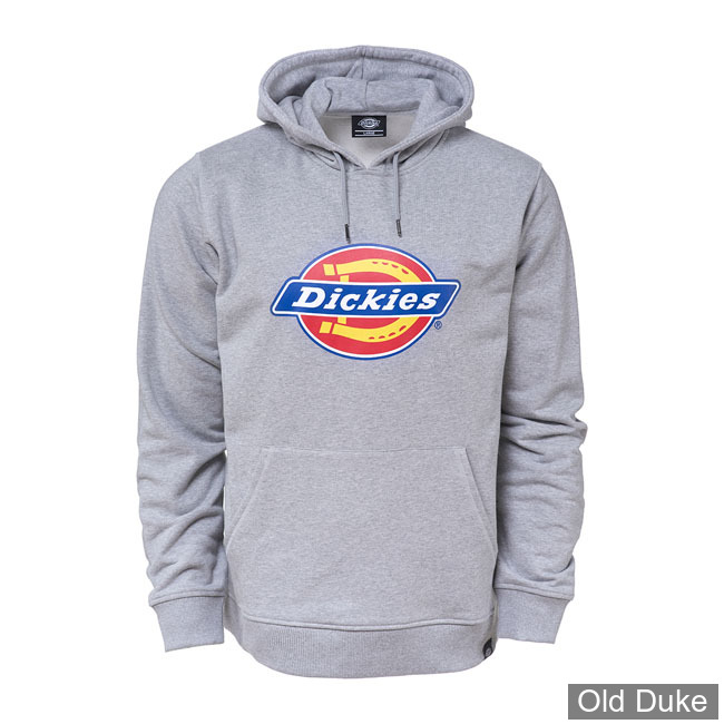 SWEAT SHIRT A CAPUCHE - DICKIES - SAN ANTONIO  - GRIS CHINE - TAILLE : S