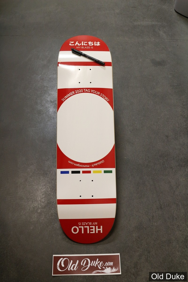 "DECK - 8.375""/31.85"" - SUMMER 2020 ""TAG YOUR STORY"" - OLDDUKE"