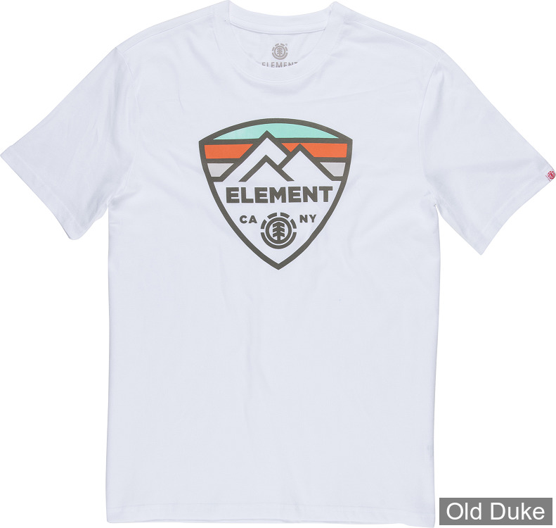 TEE-SHIRT - ELEMENT - GUARD SS - BLANC - TAILLE  : L