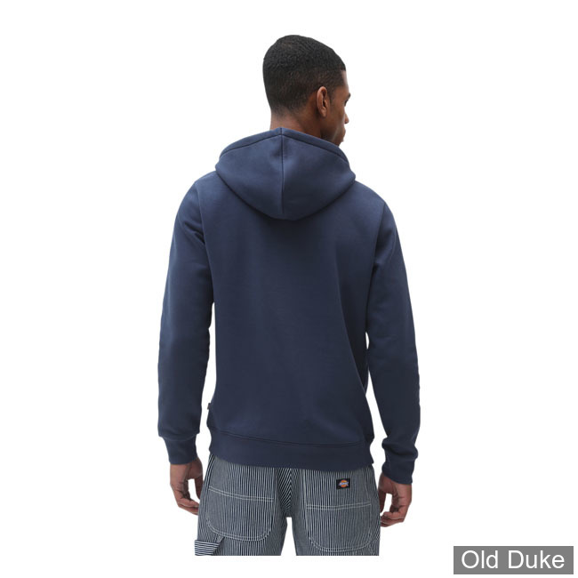 SWEAT SHIRT A CAPUCHE - DICKIES - ICON LOGO HOODIE - NAVY BLUE
